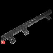 Пластиковая зубчатая рейка для откатных ворот 22x22 мм