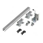Система роликов и направляющих для балки 88Х95Х5 L=6000 мм